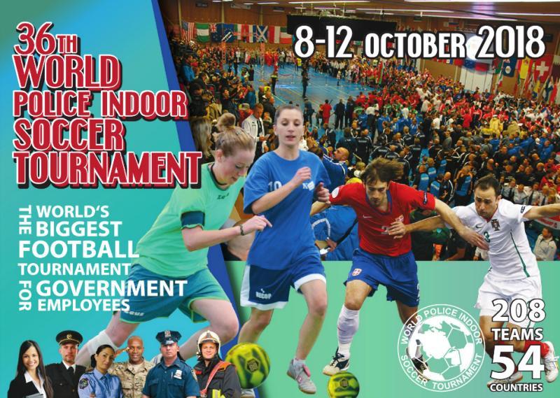 36. ročník Světového turnaje policejních sborů v halovém fotbalu, Nizozemsko