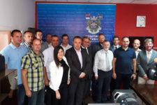 Družební akce prostějovských policistů skolegy ze srbského Prijepolje pokračovaly i v letošním roce