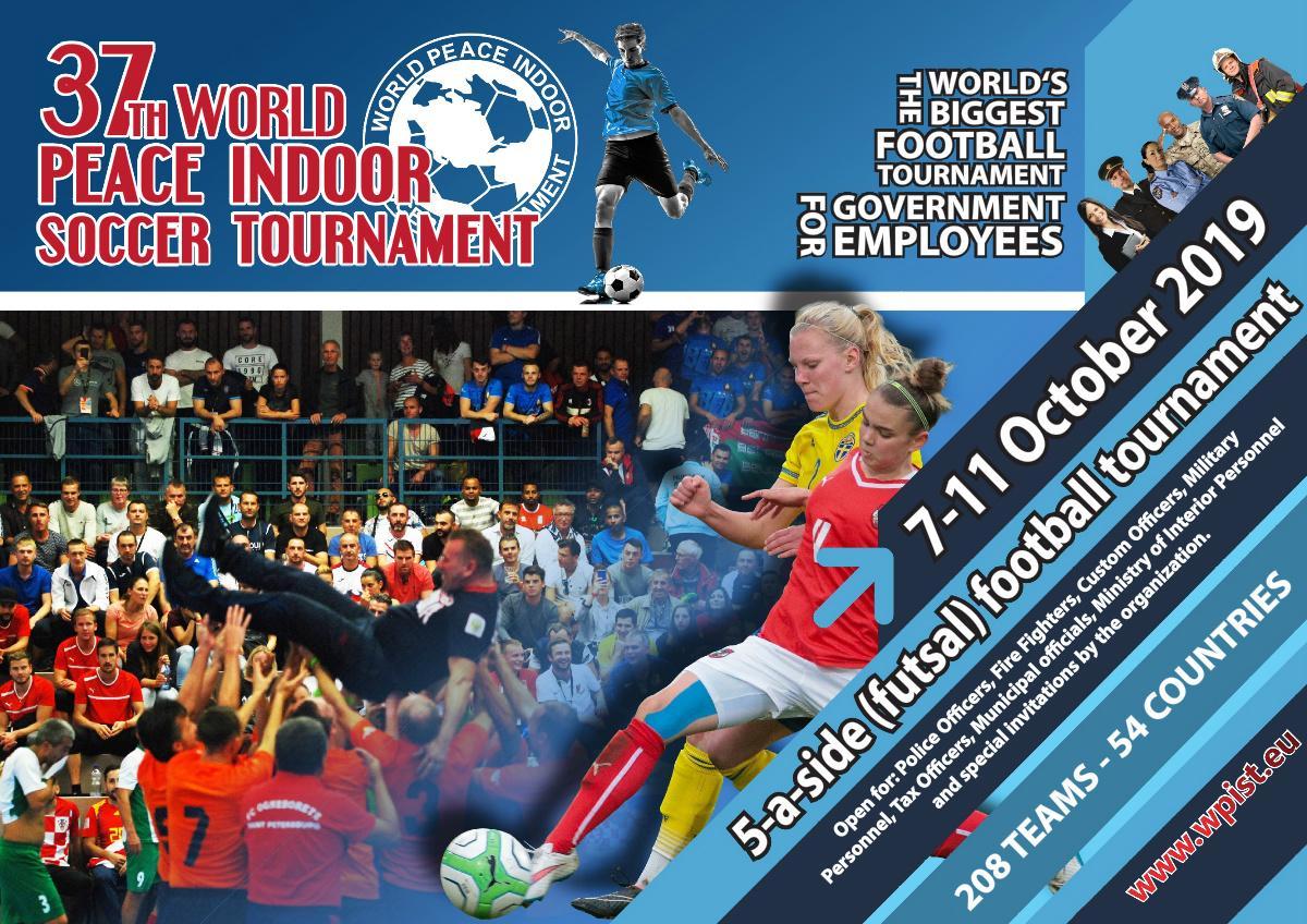 37. ročník Světového mírového turnaje v halovém fotbalu, Nizozemsko
