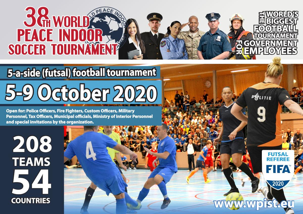 38. ročník Světového mírového turnaje v halovém fotbalu, Nizozemsko